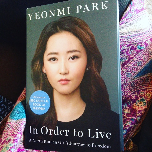 In order to live yeonmi park summary writing